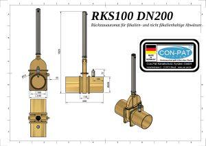 RKS100-DN200-Zeichnung-bema